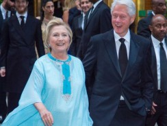 Les Clintons passeront le week-end à Marrakech!